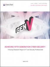 Security That Prevents Fifth-Generation Cyber Attacks