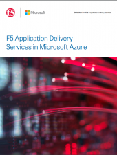 F5 Azure Solution Brief