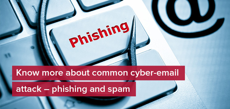 Know more about common cyber-email attack - phishing and spam
